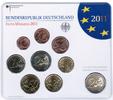Bundesrepublik Deutschland Offizieller Kurssatz 2012 ADFGJ komplett Offizieller Kurssatz 2012 ADFGJ Stempelglanz mit den Euromünzen 1 Cent bis 2€
