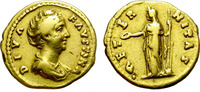 Rome. Aureus. Faustina I, affordable an well centered.