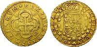 SPAIN. FELIPE V. SEVILLE. SUCH AN ATTRACTIVE & EMBLEMATIC ISSUE. 8 ESCUDOS. 1712. SS+.