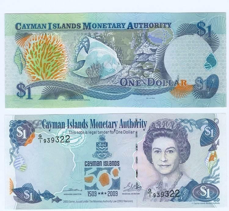 1 Dollar 2003 Cayman Islands