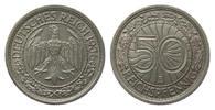 Nach Stabilisierung der Mark 1923-1933 (1936) 50 Reichspfennig Lichtenrader Prägung