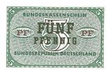 Bundesrepublik Deutschland 5 Pfennig Bundeskassenschein