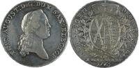 Deutschland Konventionstaler (Ausbeutetaler) Sachsen, Albertinische Linie: Friedrich August III. 1763-1806