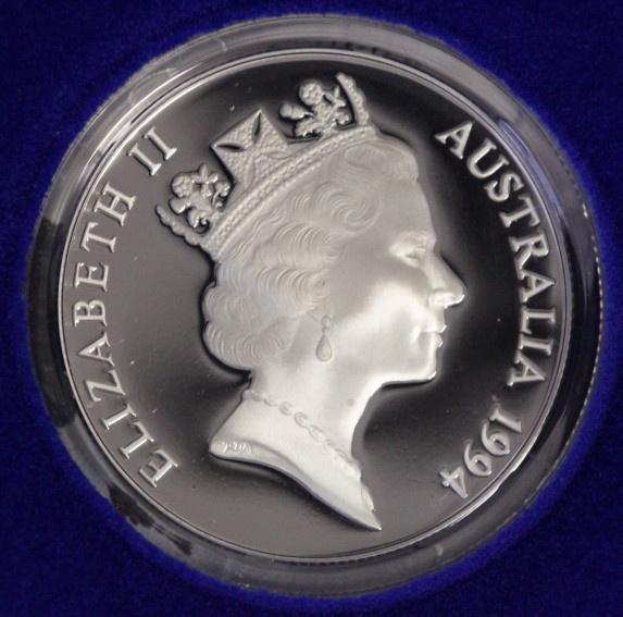 10 Dollars 1994 Australien Adler - Birds of Australia PP/Etui*/Zert.