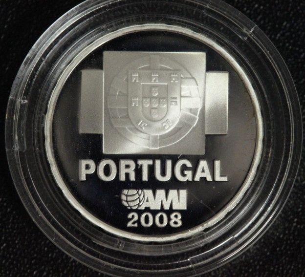 1 1/2 Euro 2008 Portugal Contra a Indiferenca PP/OVP/Zert.