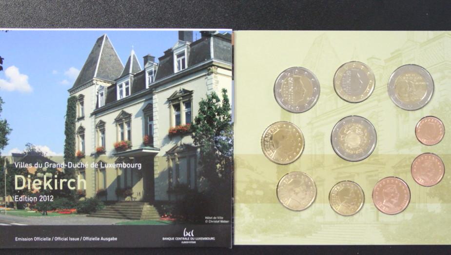 3,88€ 2012 Luxemburg KMS Luxemburg 2012 st