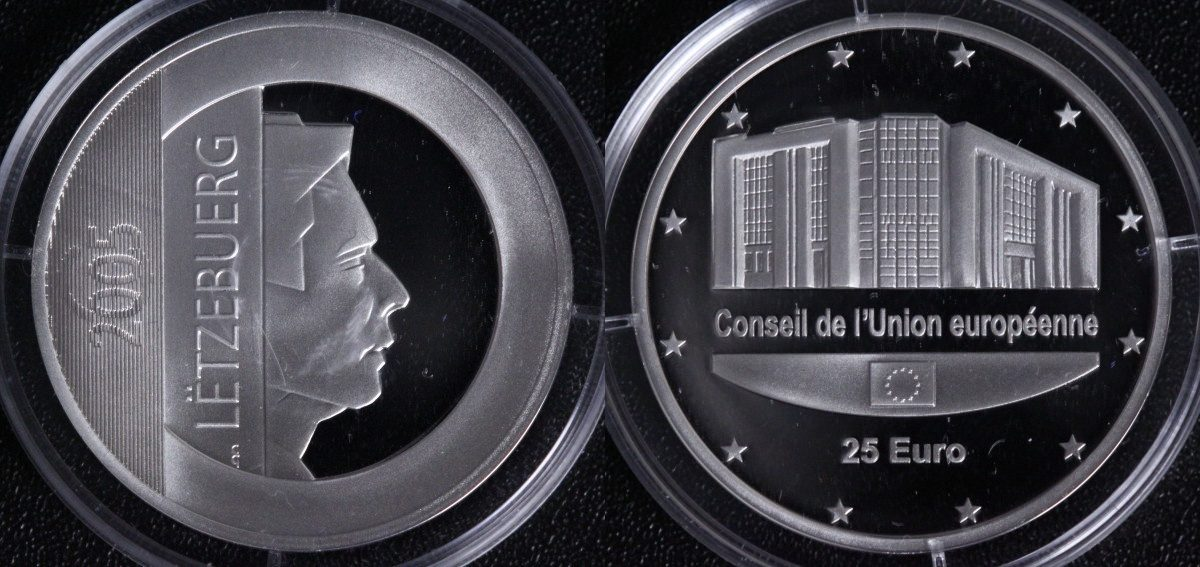25 Euro 2005 Luxemburg EU-Ratspräsidentschaft PP*