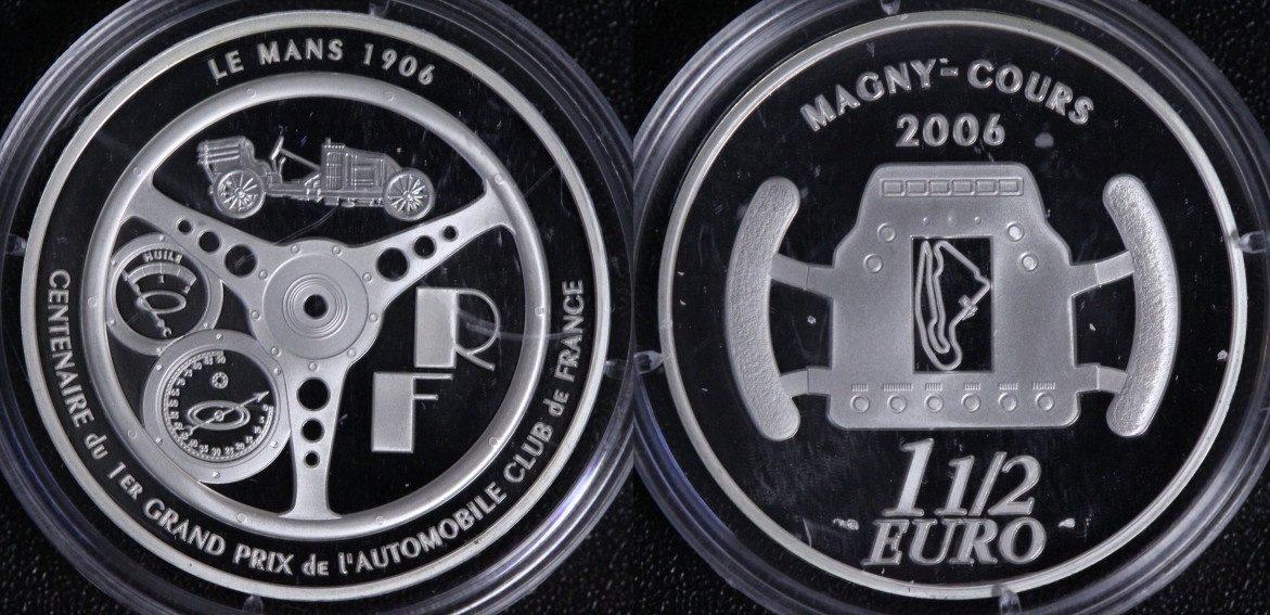 1 1/2 Euro 2006 Frankreich Le Mans - Magny Cours PP*