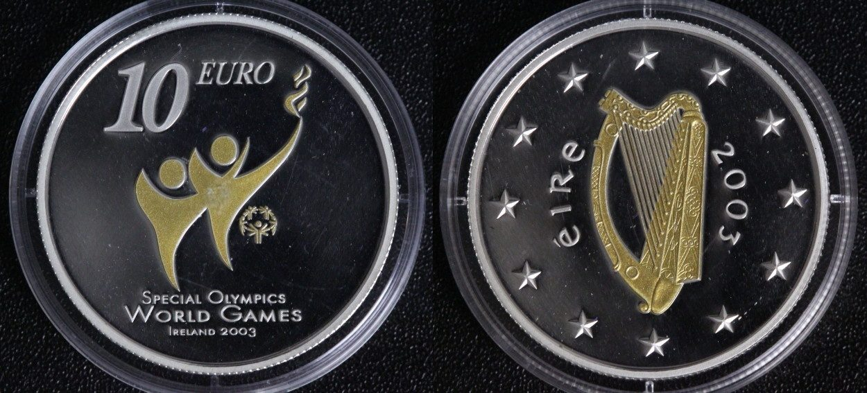 10 Euro 2003 Irland Olympia - Special Olympics PP*