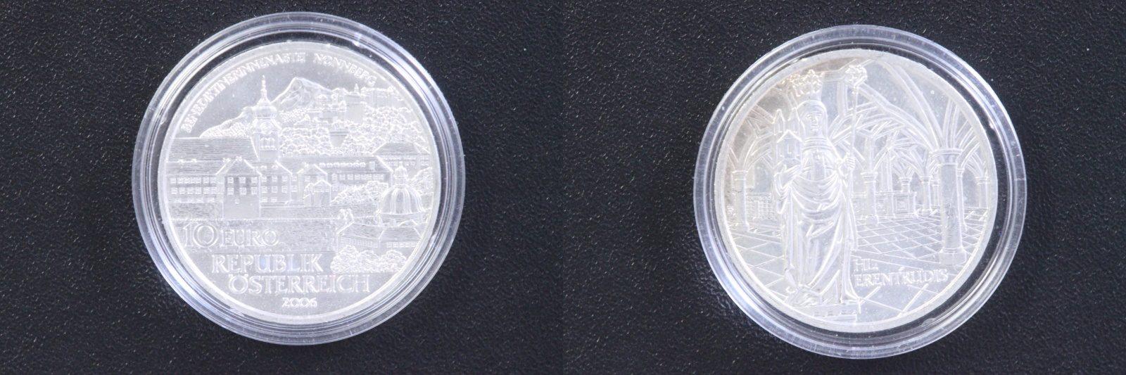 10 Euro 2006 Österreich 10 € Benediktinerinnenabtei Nonnberg st