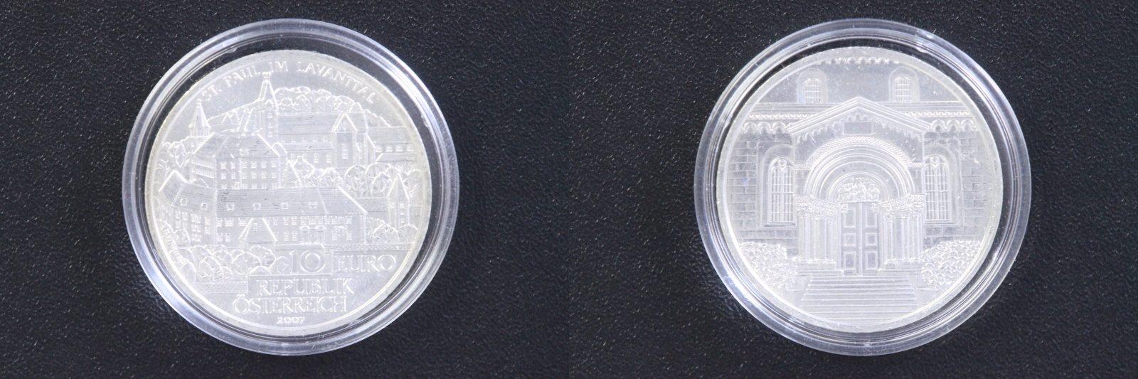 10 Euro 2007 Österreich 10 € St. Paul im Lavanthal st