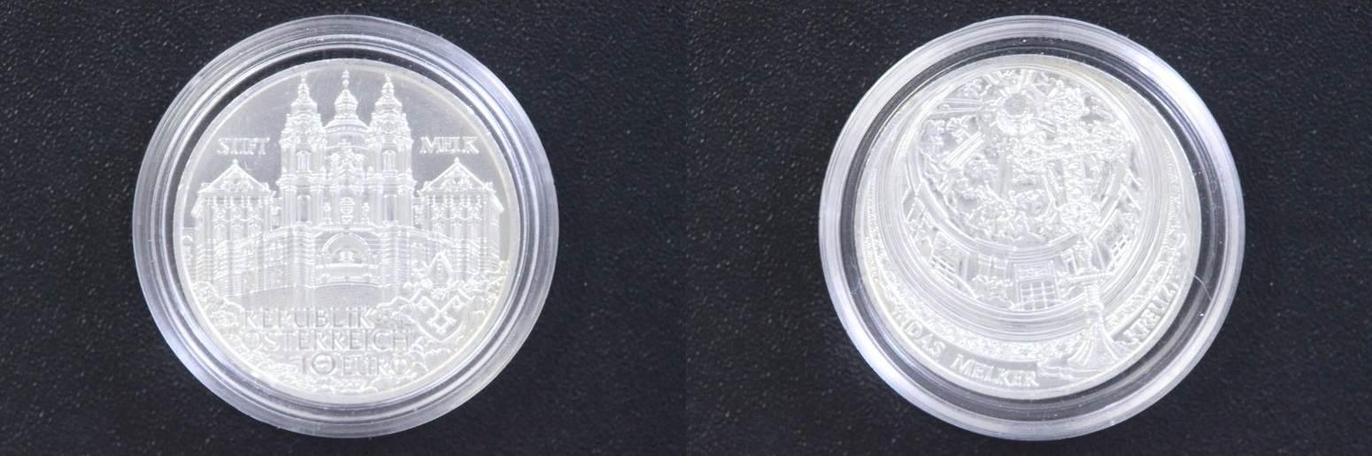 10 Euro 2007 Österreich 10 € Stift Melk st