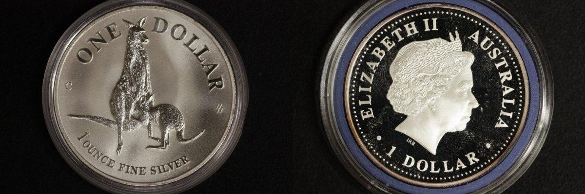 1 Dollar 1996 Australien 1 $ Känguru 1996 st