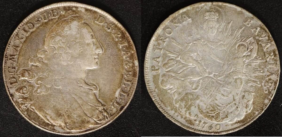 Marientaler 1760 Bayern Max III. Joseph ss