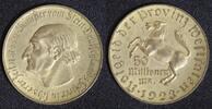 Westfalen 50 Millionen Mark Freiherr vom Stein N23b - schmaler Randstab!