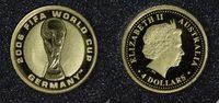 4 Dollars 2006 Australien Fußball-Weltmeisterschaft 2006 in Deutschland... 65,00 EUR  zzgl. 5,00 EUR Versand
