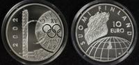 Finnland 10 Euro 50 Jahre Olympia Helsinki - XV. Spiele
