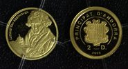 2 Diners 2008 Andorra Ludwig v. Beethoven - Gold PP*  50,00 EUR  zzgl. 5,00 EUR Versand