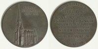 Mühlhausen, Thüringen Medaille Wiederherstellung der Marienkirche - sehr selten