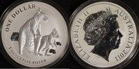1 Dollar 2011 Australien Känguru st  40,00 EUR  zzgl. 5,00 EUR Versand