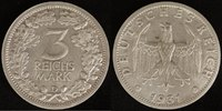 3 Mark 1931 D Weimarer Republik Kursmünze vz  295,00 EUR  zzgl. 5,00 EUR Versand