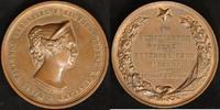 Bronze-Medaille 1854 Sachsen/Russland Nikolaus I. vz  220,00 EUR  zzgl. 5,00 EUR Versand