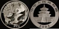 10 Yuan 2005 China Panda st in Kapsel  85,00 EUR  zzgl. 5,00 EUR Versand