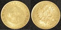 10 Markkaa 1882 Russland / Finnland Alexander III.(1881-94)   350,00 EUR kostenloser Versand