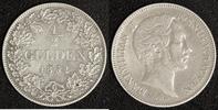 1/2 Gulden 1851 Bayern Max II. Josef ss  35,00 EUR  zzgl. 5,00 EUR Versand