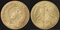 20 Mark 1873 Deutschland Ludwig III. ss  490,00 EUR kostenloser Versand