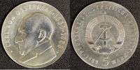 5 Mark 1989 DDR Ossietzky vz-st  50,00 EUR  zzgl. 5,00 EUR Versand