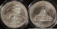 1 Dollar 2000 USA Libary of Congress st / OVP/ Zert./ Etui  90,00 EUR  zzgl. 5,00 EUR Versand
