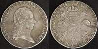Taler 1794 M Österreich Franz II. ss, just.  50,00 EUR  zzgl. 5,00 EUR Versand