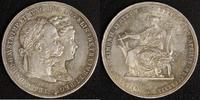 2 Gulden 1879 Österreich Franz Joseph I., Silberhochzeit vz  80,00 EUR  zzgl. 5,00 EUR Versand