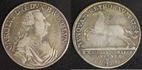 Braunschweig-Wolfenbüttel 2/3 Taler Karl I. (1735-80)