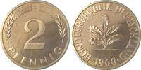 d 2 Pfennig 1960G PP 100 Exemplare
