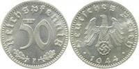 Drittes Reich 50 Pfennig 1944F prfr Erstabschlag (EA)! !!