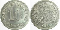 Kaiserreich 10 Pfennig 1915A prfr/stgl