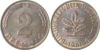 d 2 Pfennig 1960G bfr