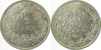 Kaiserreich 0.5 Mark 1907E f.prfr.