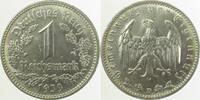 Drittes Reich 1 Reichsmark 1939D f.prfr