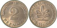 d 2 Pfennig 1960F bfr