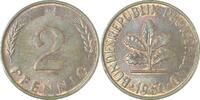d 2 Pfennig 1960G bfr/stgl
