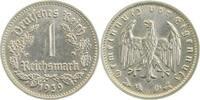 Drittes Reich 1 Reichsmark 1939G prfr/f.prfr !!!