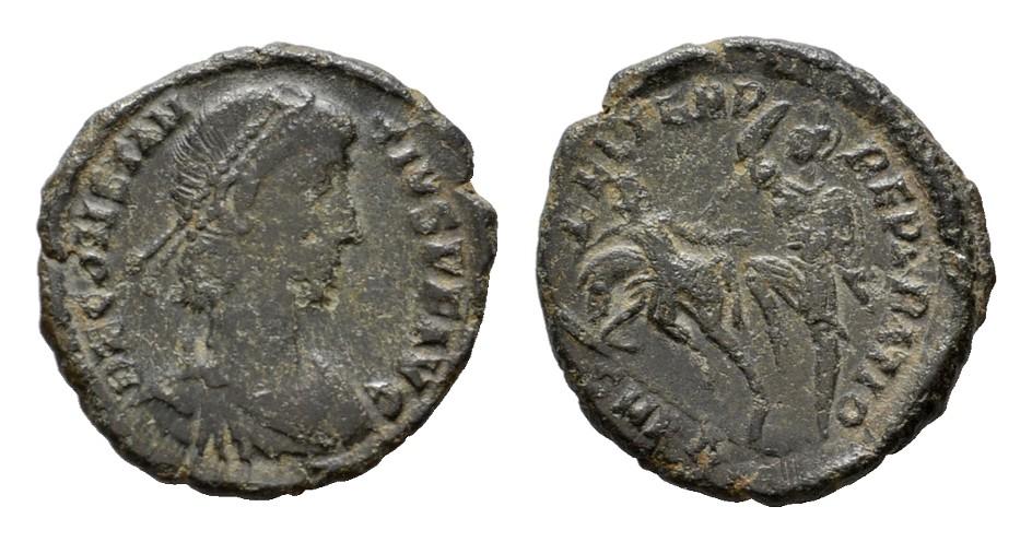 Æ-Halbmaiorina, Cyzikus. RÖMISCHE KAISERZEIT Constantius II., 337-361. Sehr schön.
