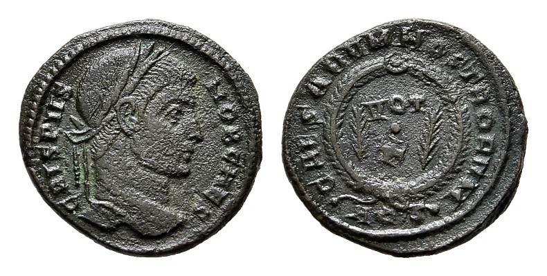 Æ-3. RÖMISCHE KAISERZEIT Constantinus I., 306-337 für Crispus.