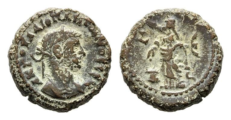 B-Tetradrachme Jahr 5 = 288/289, Alexand RÖMISCHE KAISERZEIT Diocletianus, 284-305. Schön-sehr schön.
