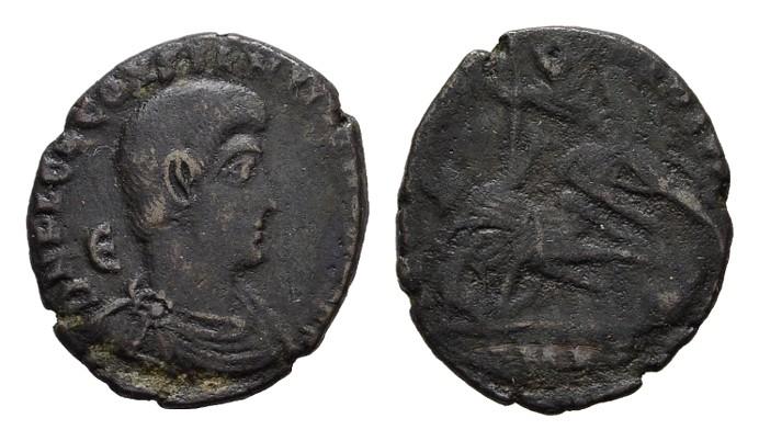 Æ-Centenionalis, Cyzicus. RÖMISCHE KAISERZEIT Constantius II., 337-361 für Constantius Gallus. Fast sehr schön.