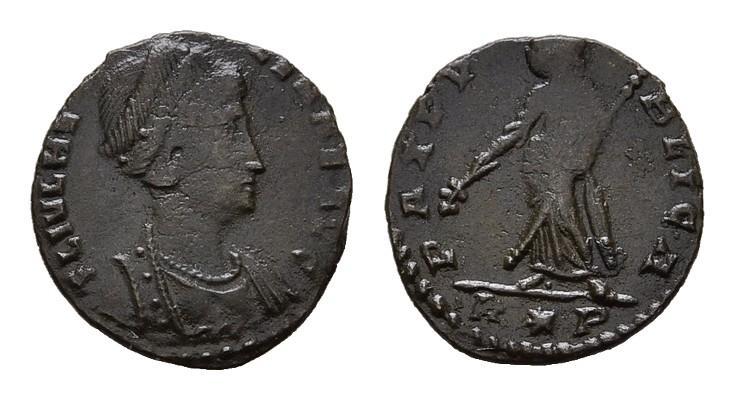 Æ-4 RÖMISCHE KAISERZEIT Constantius II., 337-361 für Helena.