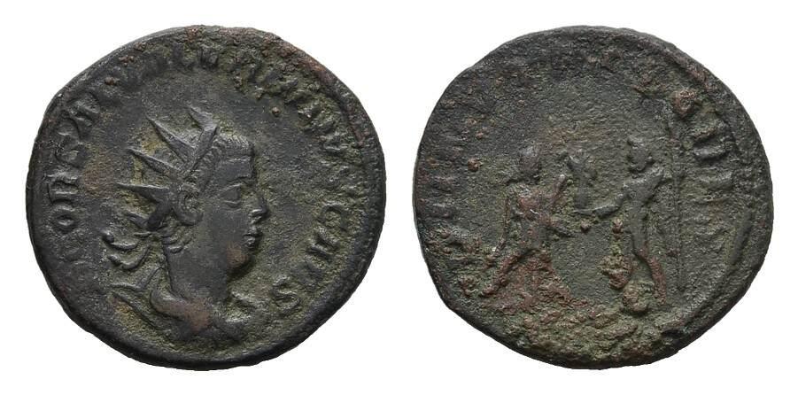 Antoninian. RÖMISCHE KAISERZEIT Gallienus, 253-268 für Salonina. Sehr schön / Schön.